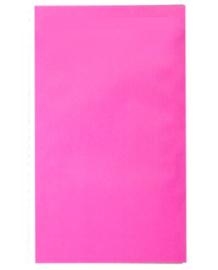 Kadozakje effen Kraft Roze 12x19cm | Per 5 stuks