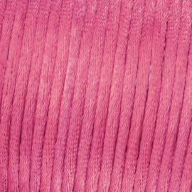 Satijnkoord Roze 0.5 meter