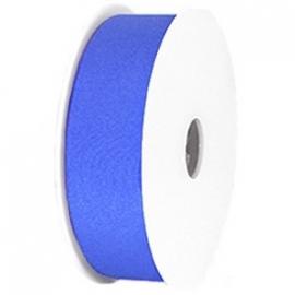 Elastisch Ibiza lint Kobalt Blauw, 1 meter