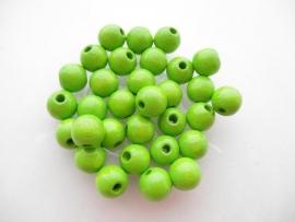 Speenkoord Kralen Groen 8mm