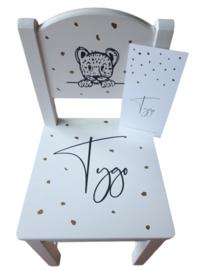 Geboorte Stoeltje Tygo getraceerd vanaf geboortekaartje