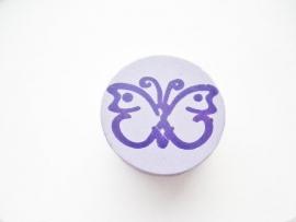 Vlinder Lila Paars 20mm