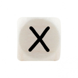 Letterkraal X Zwart