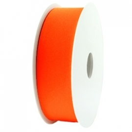 Elastisch Ibiza lint Oranje, 1 meter