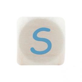 Letterkraal S Blauw