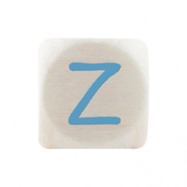 Letterkraal Z Blauw