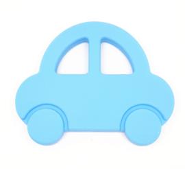 Silicone Bijt Auto Sky Blauw