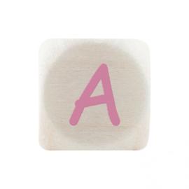 Letterkraal A Roze