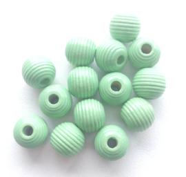 Ribbelkraal Pastel Groen