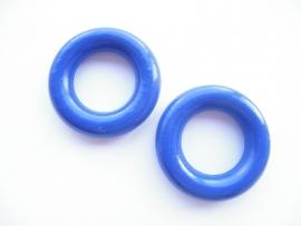 Kleine Ring Donker Blauw