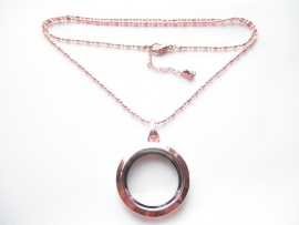 Memory Locket Rose Gold