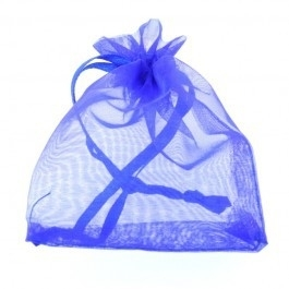 Organza Cadeauzakje Blauw