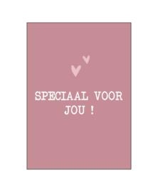 Ansichtkaart 'Speciaal voor jou'
