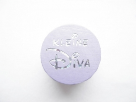 Speenkoord Kraal Kleine Diva Lila 20mm
