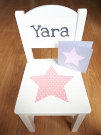 Geboorte Stoeltje Yara getraceerd vanaf geboortekaartje