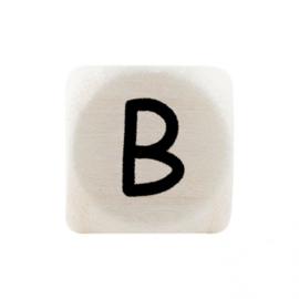 Letterkraal B Zwart