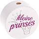 Speenkoord Kraal Kleine Prinses Wit 20mm