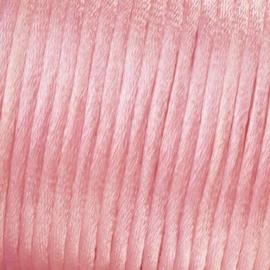 Satijnkoord Licht Roze 0.5 meter