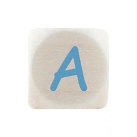 Letterkraal A Blauw