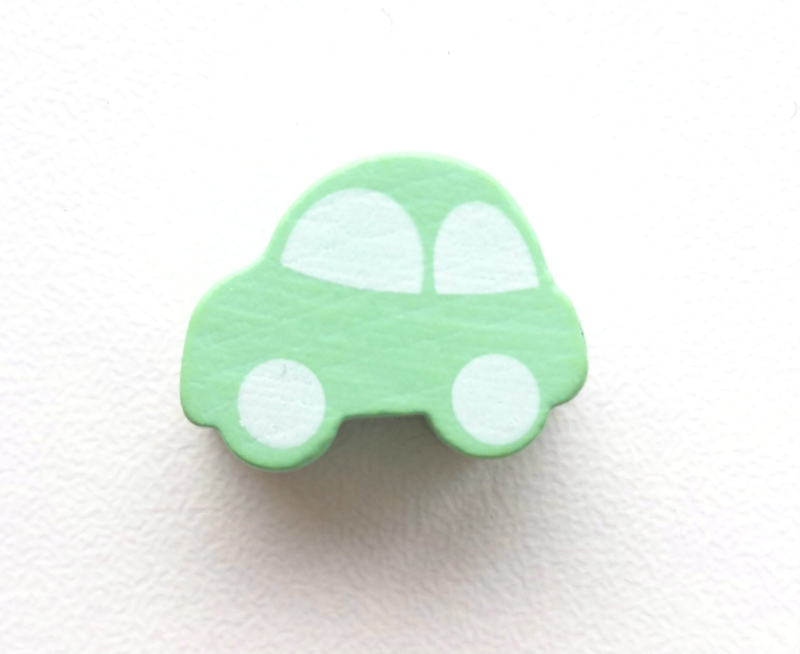 Auto Pastel Groen 13x17mm