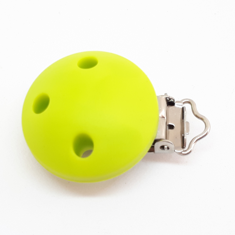 Speenclip Silicone Lime Groen