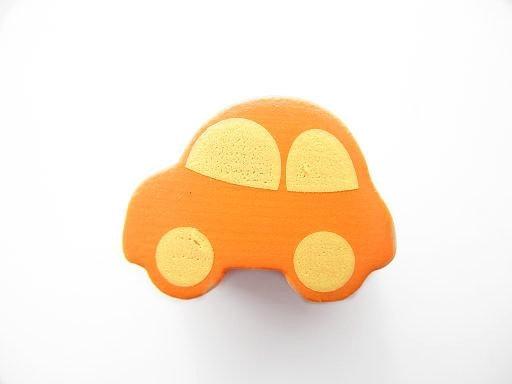 Auto Oranje/Geel 13x17mm