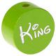 Speenkoord Kraal King Groen 20mm
