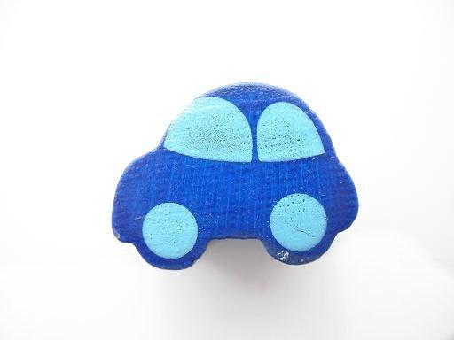 Auto Donker Blauw 13x17mm