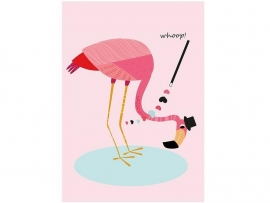 """A3 poster 'Flomongo whoop"""" (Sparkling Paper)"""