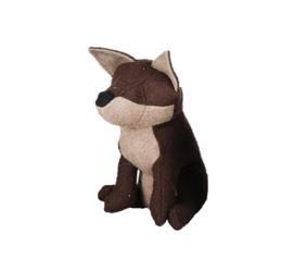 Deurstopper vilt vos (Esschert Design)