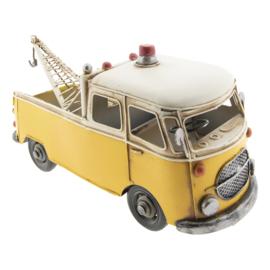 Modelauto takelwagen geel (Clayre & Eef)