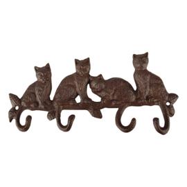 Haak vier katten (Esschert Design)