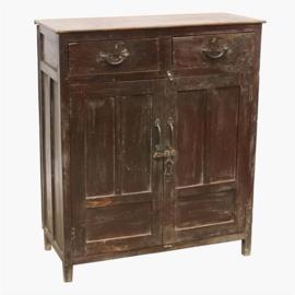 oud dressoir rood bruin