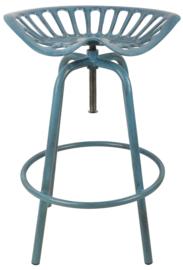 Tractorstoel blauw (Esschert design)