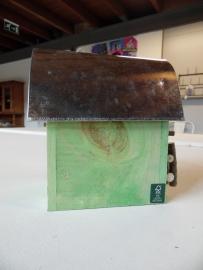 Nestkast / vogelhuisje groen (Esschert Design)