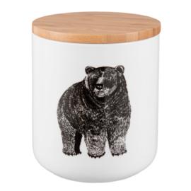 Voorraadpot beer (Clayre & Eef)