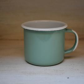 Emaille beker groen (Kitchen Trend)