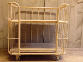 Trolley roomkleur klein  (Jama Trade)