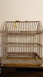 Decoratieve vogelkooi klein (Clayre & Eef)