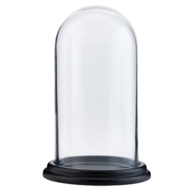 Glazen stolp klein 22 x 13 cm(Clayre & Eef)