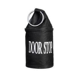 deurstopper met ring Esschert Design zwart