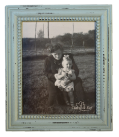 Fotolijst lichtblauw (Clayre & Eef)