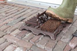 Voetveger en schoenschraper (Esschert Design)