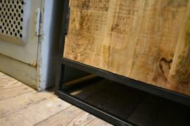 3-Deurs dressoir hout / metaal (Varios)