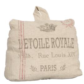 Deurstopper L'etoile Royale (Clayre & Eef)