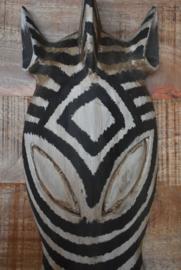 Masker zebra hout.  (Varios)