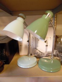 Tafellampje Study metal green (Leimotiv)