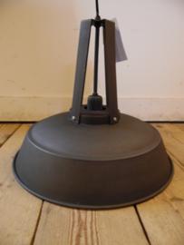 Fabriekslamp mat antraciet/koper (Light & Living)