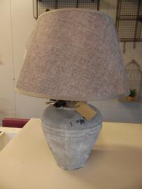 Lampenkap taupegrijs  klein (Lavandoux)