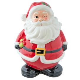 Voorraadpot kerstman groot (Clayre & Eef)